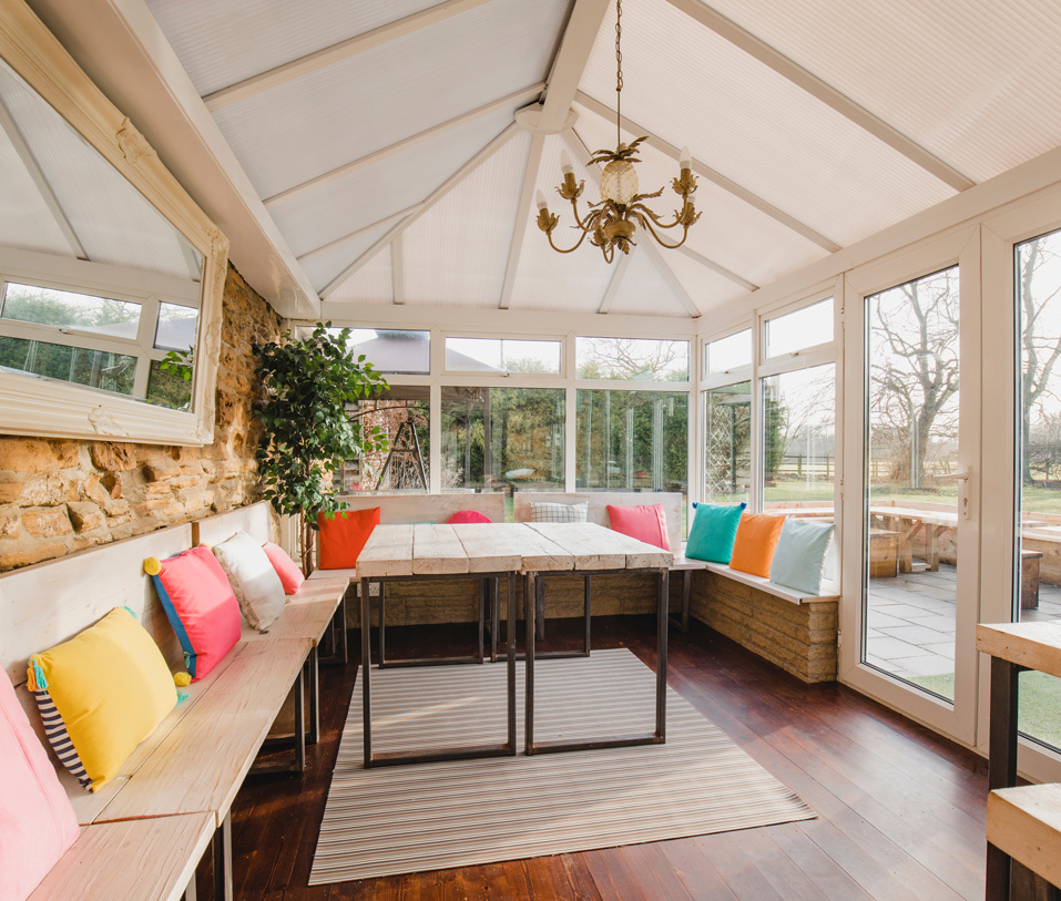 inside of conservatory conversion